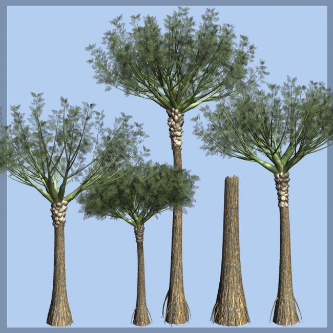 DEvonian Life - Wattieza - First Tree Ever