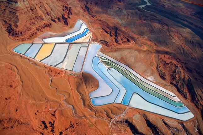Intrepid Moab Potash Potash Evaporation Pond 4