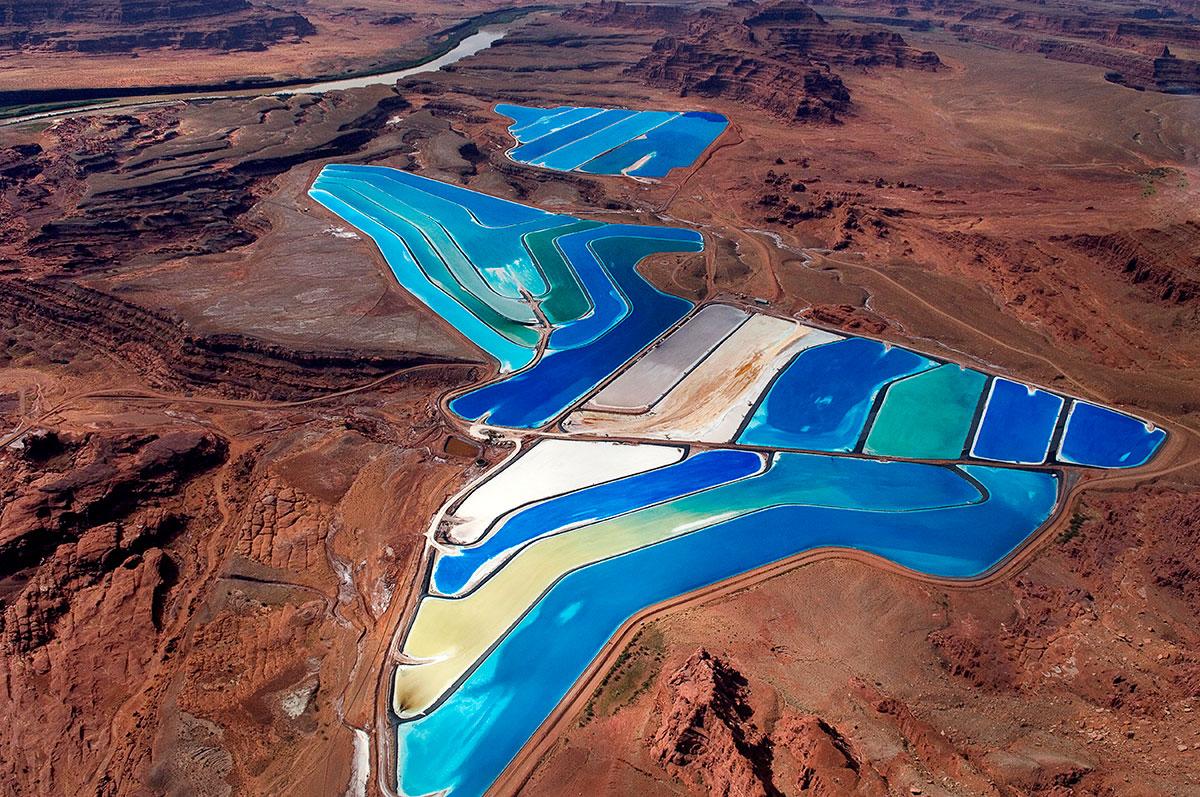 Intrepid Moab Potash Potash Evaporation Pond 5