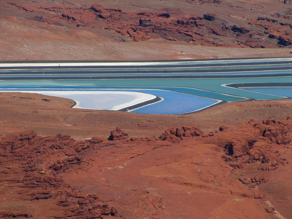 Intrepid Moab Potash Potash Evaporation Pond 7