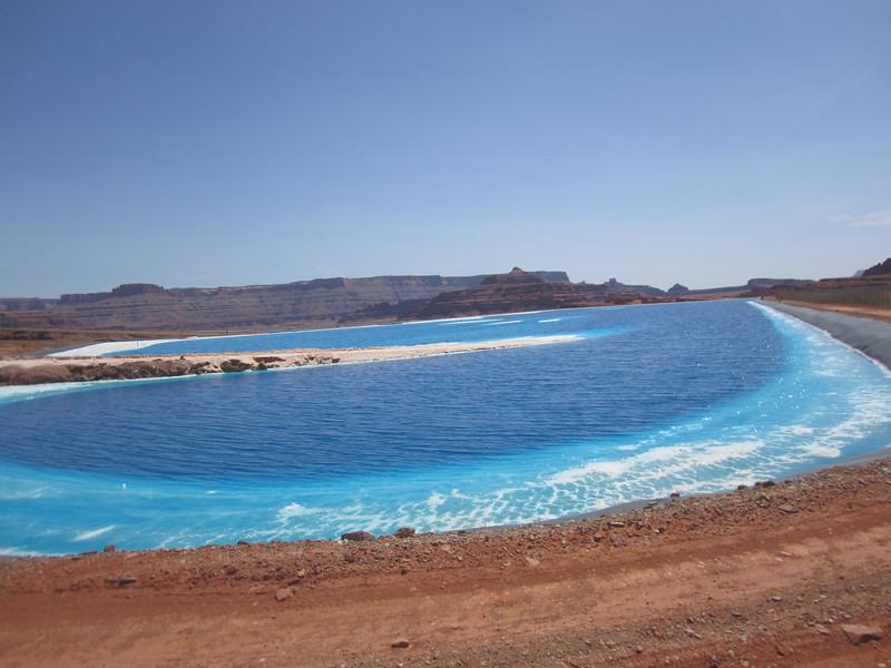 Intrepid Moab Potash Potash Evaporation Pond 9
