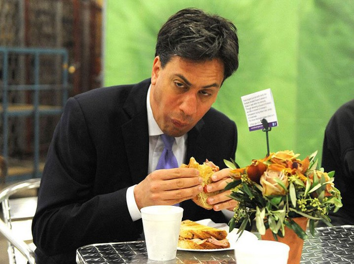 Miliband Eating