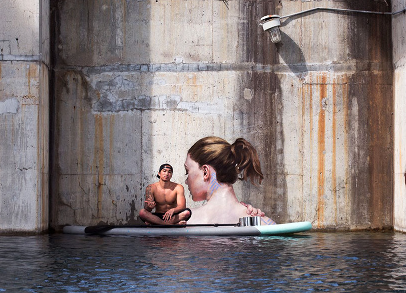 Buy Old Cars >> Sean Yoro Paints Lady's Faces From His Surfboard • Lazer Horse