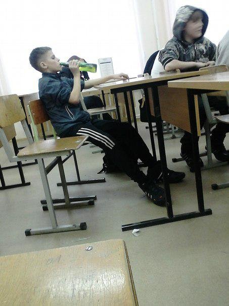 Awesome Photos From Russia With Love - Beer At School