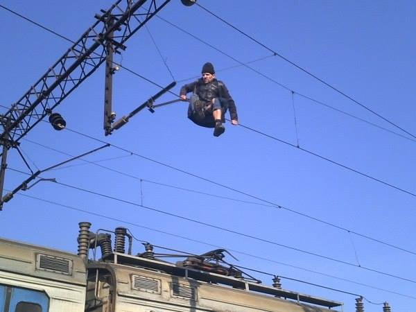 Awesome Photos From Russia With Love - Wire Walk