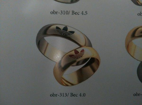 Awesome Photos Russia With Love - Adidas Wedding Ring