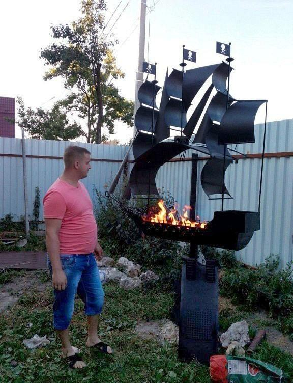 Awesome Photos Russia With Love - Most Elaborate BBQ