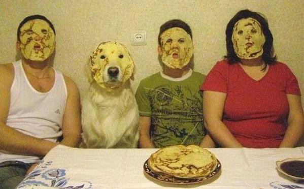 Awesome Photos Russia With Love - Pancake Dogs Face