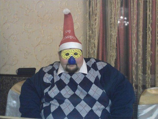 Awesome Photos Russia With Love - Scary Christmas Man