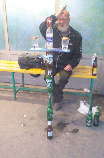 Awesome Photos Russia With Love - Street Drinker Art