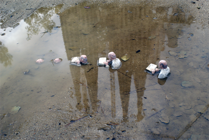 Climate Change - Isaac Cordal 9