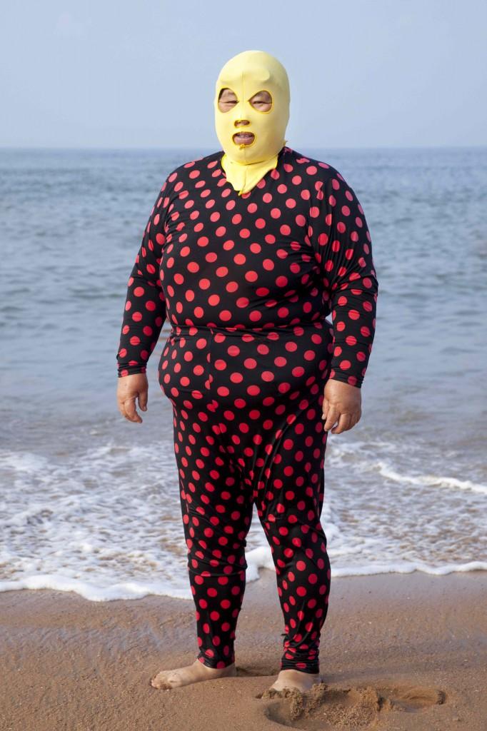 Facekini Qingdao - Fully Body Polkadot