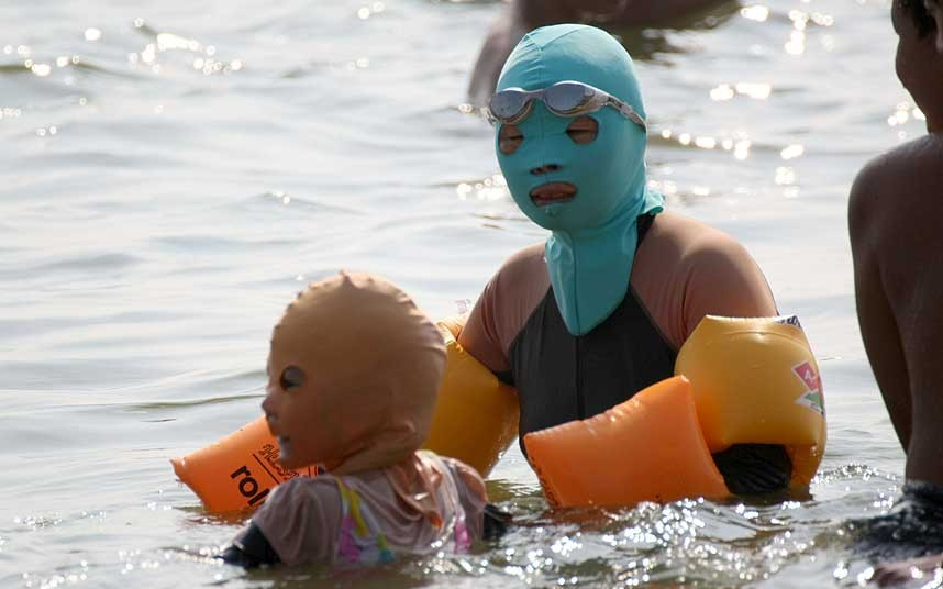 Facekini Qingdao - Mother and Child