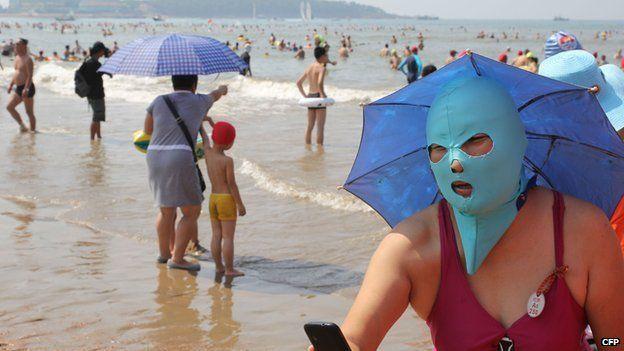 Facekini Qingdao - Selfie