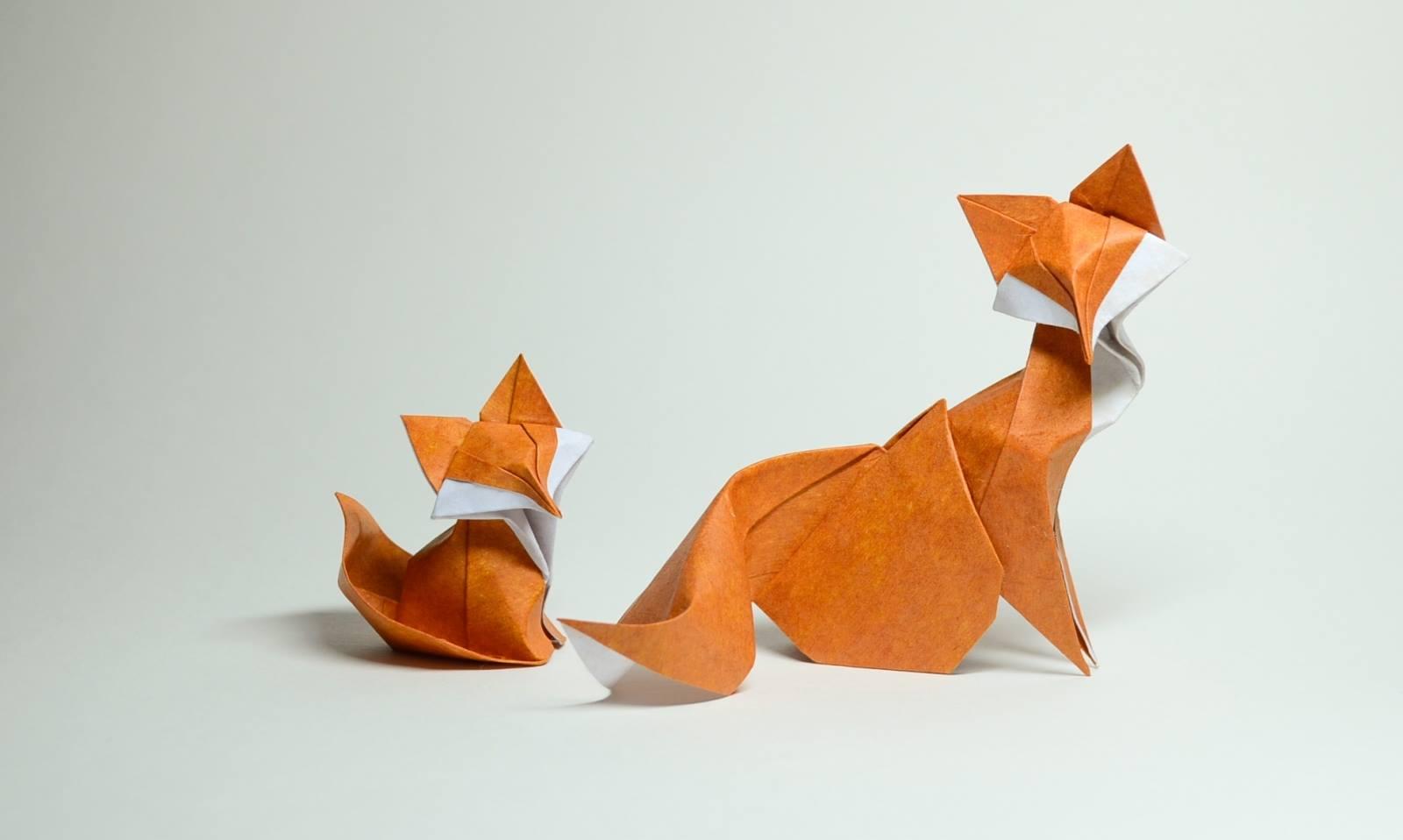 Hoàng Tiến Quyết Wet Fold Origami Fox
