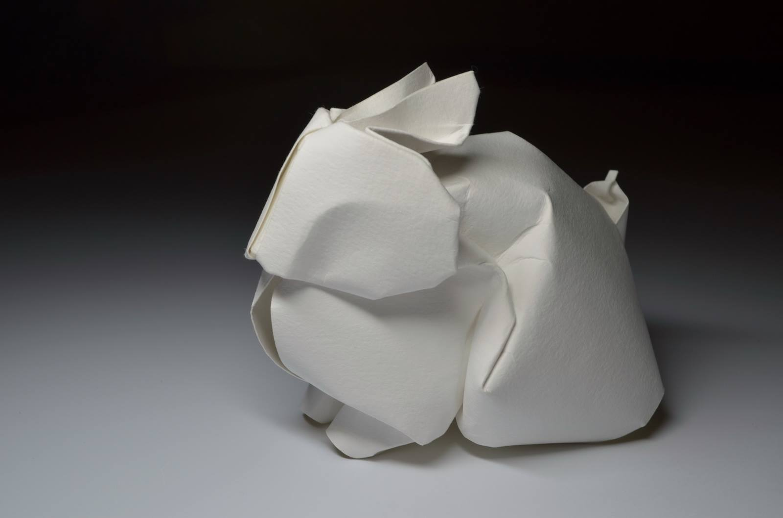 Hoàng Tiến Quyết Wet Fold Origami Rabbit