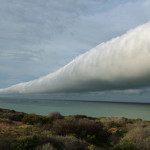 Incredible Footage Of A Roll Cloud