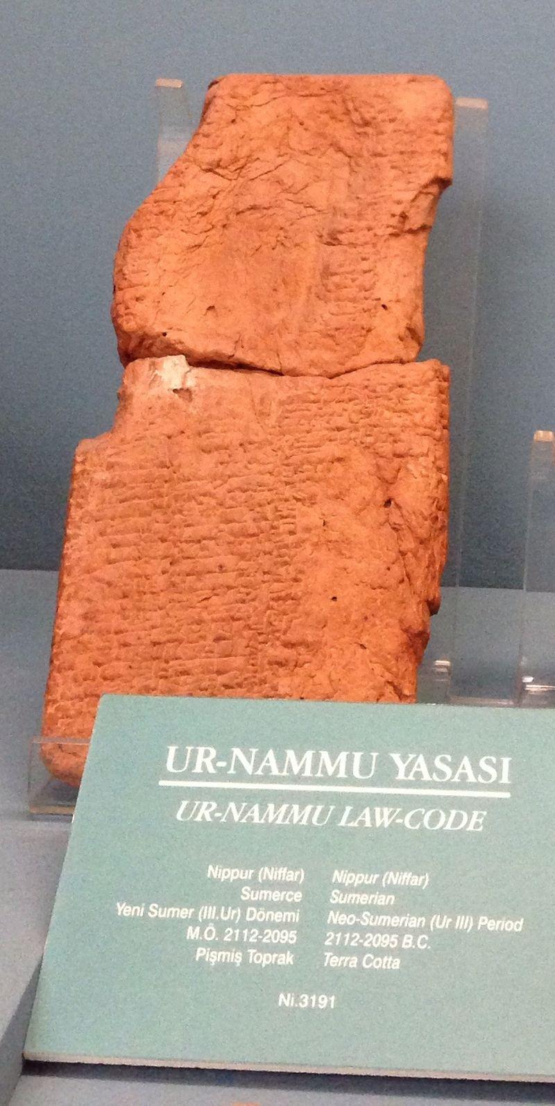 Code of Ur Nammu