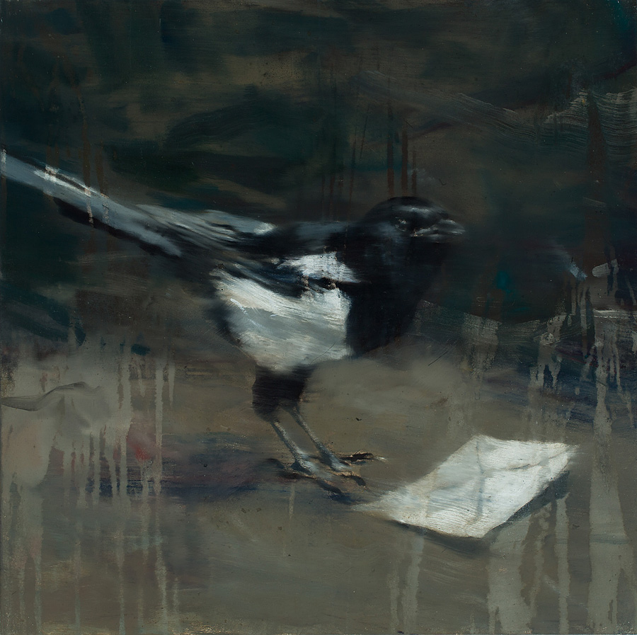 Lars Elling - Magpie With Letter