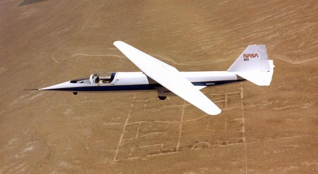 Weird Prototype Aircraft - Ames-Dryden-1