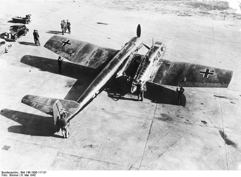 Aufklärungsflugzeug Blohm + Voß BV 141