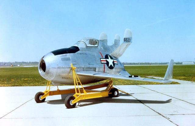 Weird Prototype Aircraft - Boeing XF-85 Goblin