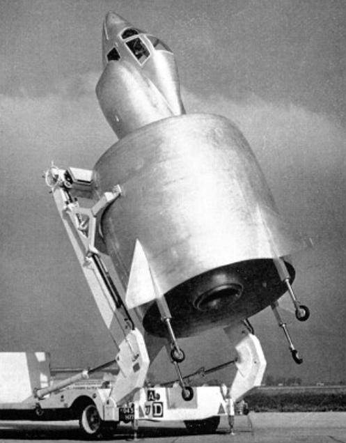 Weird Prototype Aircraft - C-450 prototype