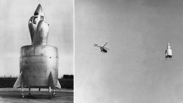 Weird Prototype Aircraft - C-450