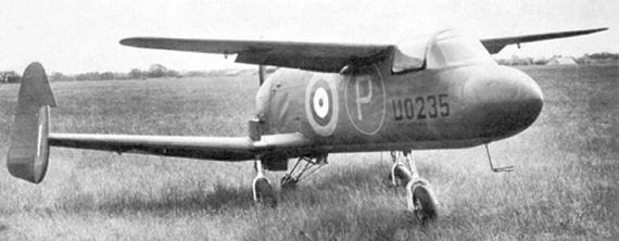 Weird Prototype Aircraft - M39B Libellula grounded