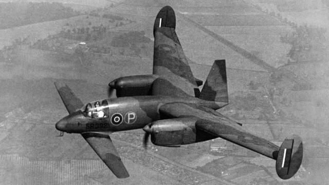 Weird Prototype Aircraft - M39B Libellula