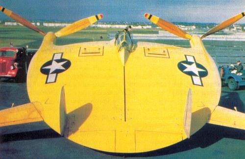 Weird Prototype Aircraft - VTOL Vought V-173 restored