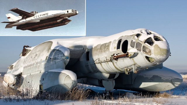 Weird Prototype Aircraft - VVA 14