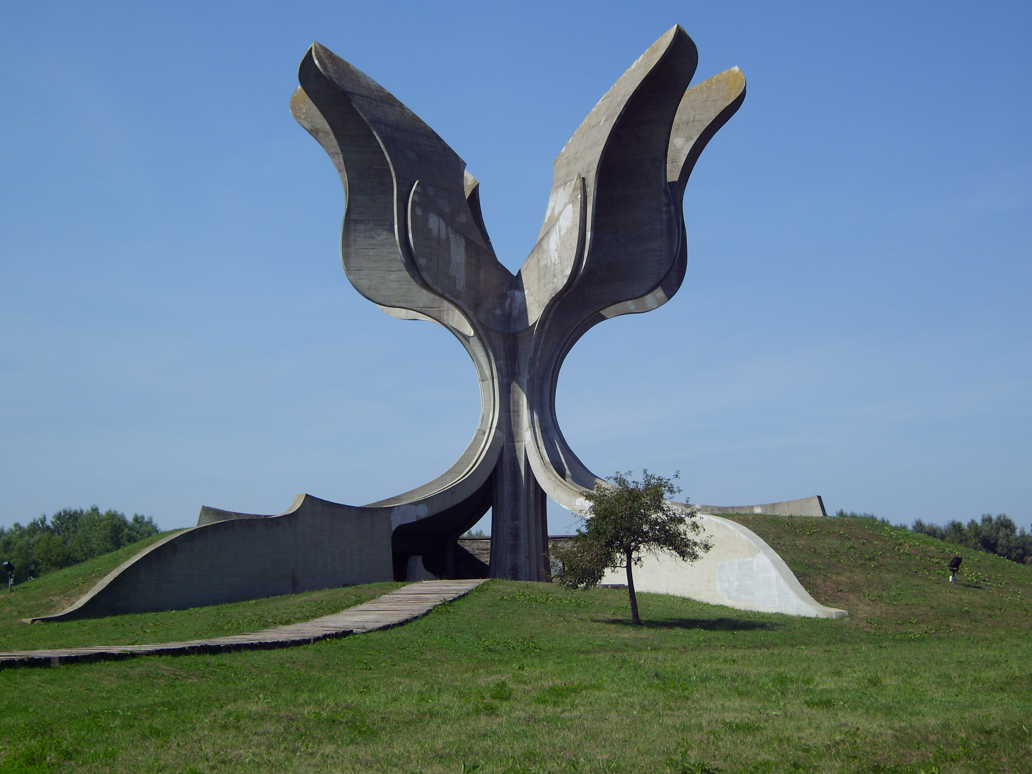 Yugoslavian WWII Monuments - Jasenovac Memorial Area 3