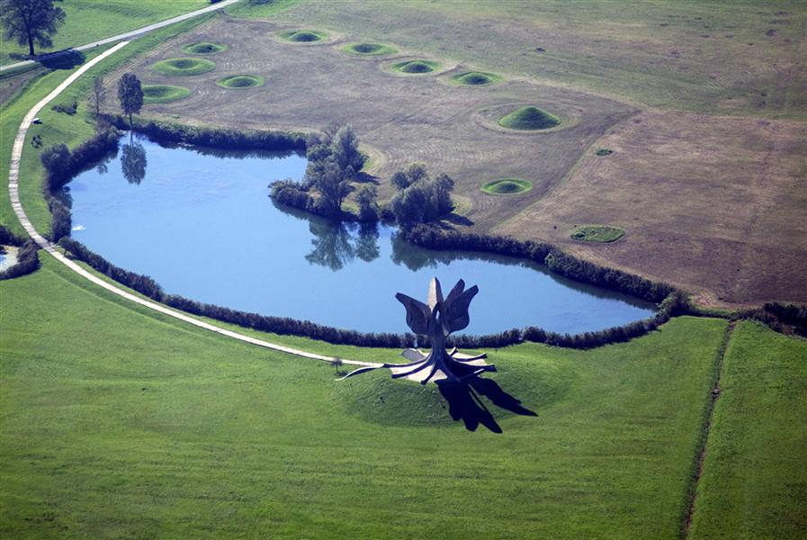 Yugoslavian WWII Monuments - Jasenovac Memorial Area 4