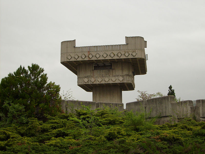 Yugoslavian WWII Monuments - Mausoleum of the fallen fighters and victims of fascism