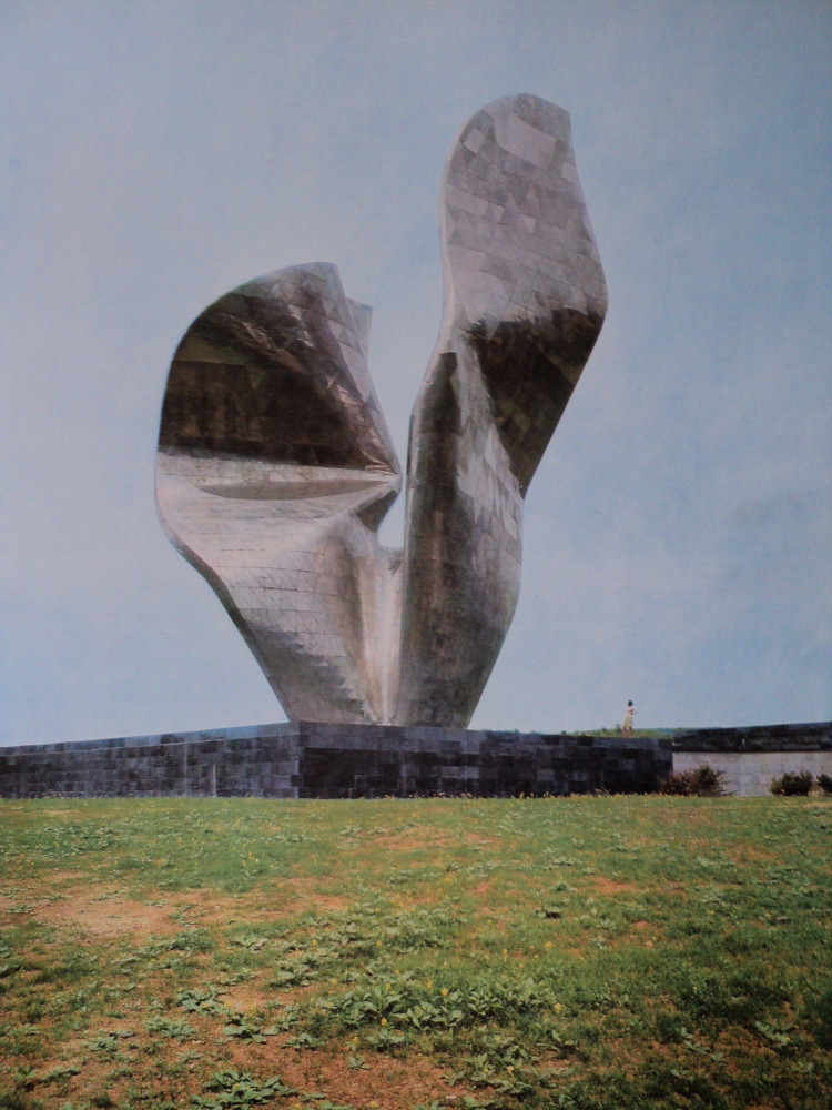 Yugoslavian WWII Monuments - Monument of the Revolutionary Victory of the People of Slavonia