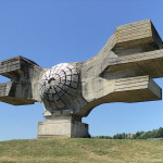 Incredible Abandoned Yugoslavian Soviet Monuments #1