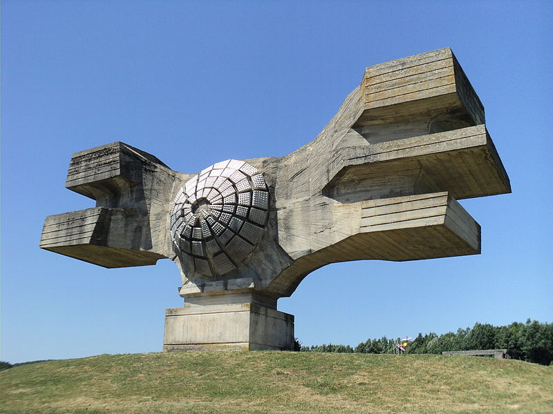 Yugoslavian WWII Monuments - Monument to the Revolution of the people of Moslavina