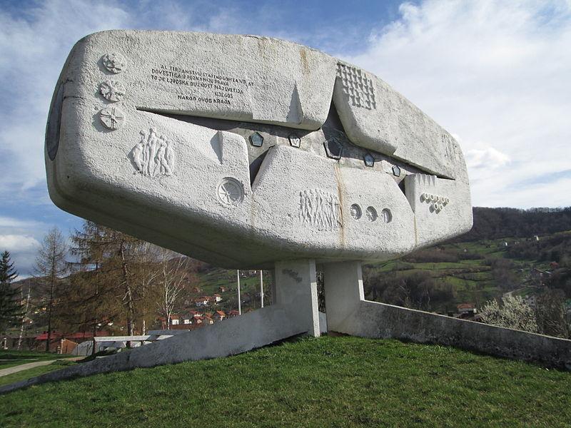 Yugoslavian WWII Monuments - Vogosca Monument