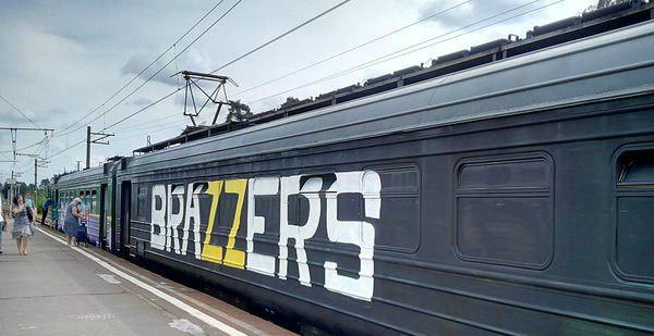 Awesome Photos From Russia With Love - Brazzers Train Ad