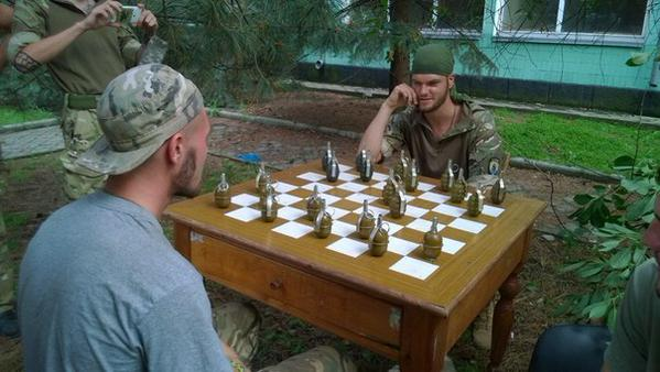 Awesome Photos From Russia With Love - Grenade Chess