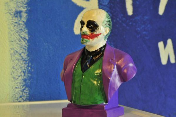 Awesome Photos From Russia With Love - Lenin Joker