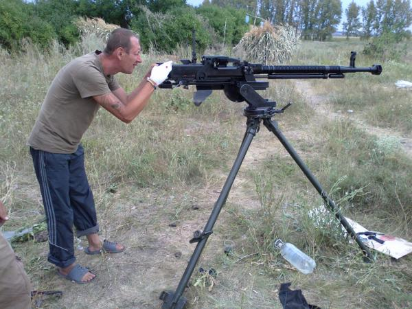Awesome Photos From Russia With Love - Machine Gun