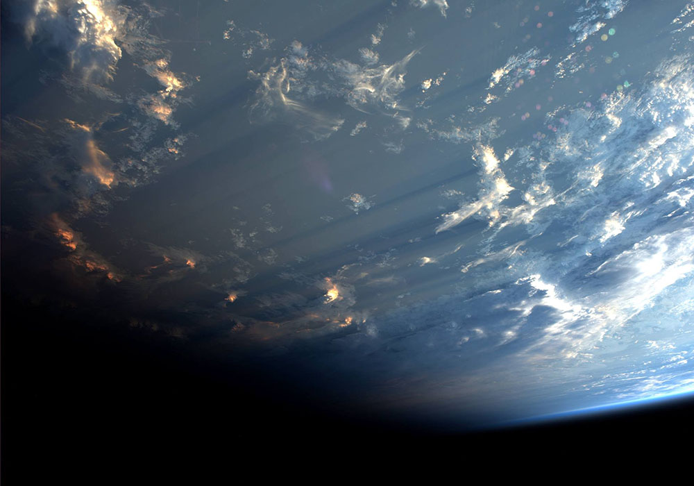 Clouds From Space ISS 2