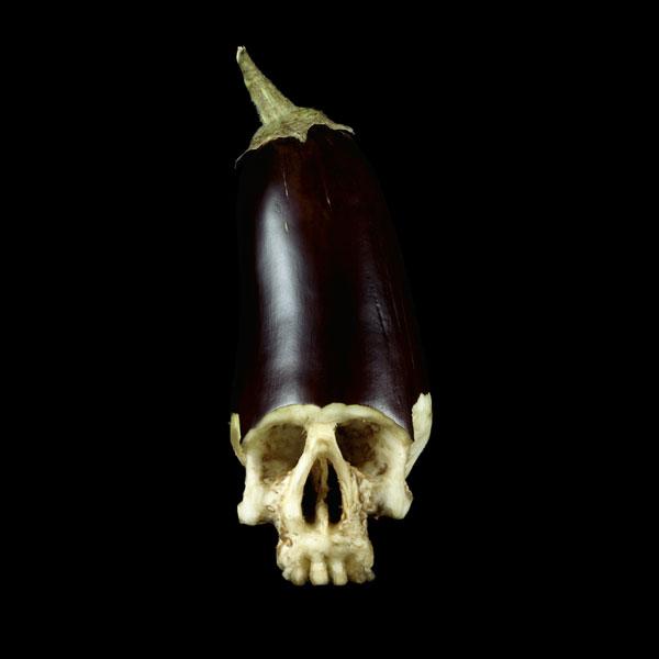 Dimitri Tsykalov - Fruit Skull Aubergine