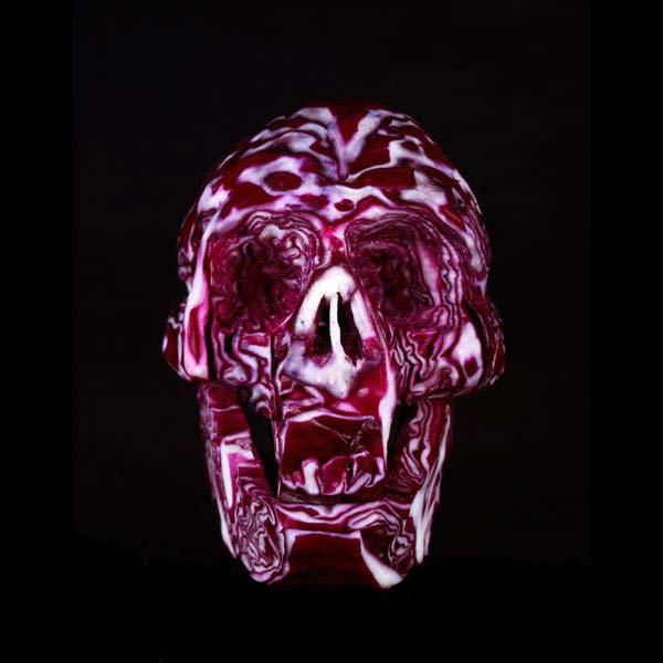 Dimitri Tsykalov - Fruit Skull Red Cabbage
