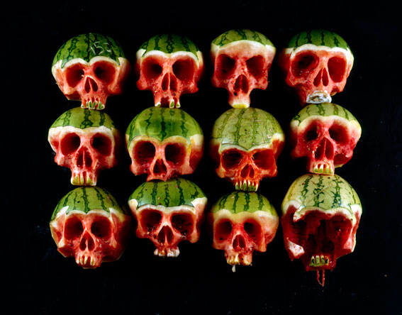 Dimitri Tsykalov - Fruit Skull Watermelons