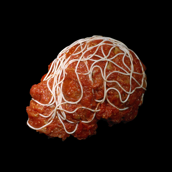 Dimitri Tsykalov - Meatball Sculpture