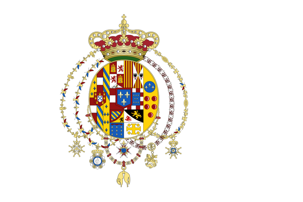 Regional Flags Italy - Flag of the Kingdom of the Two Sicilies - 1738-1860