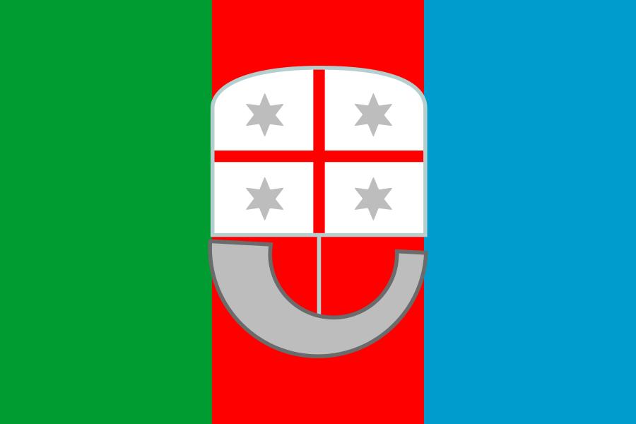 Regional Flags Italy - Liguria